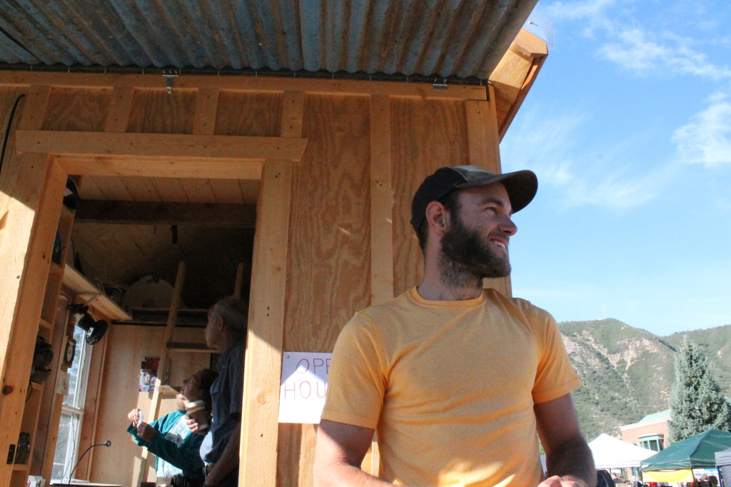 Greg Parham Rocky Mountain Tiny Houses Opening