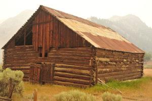 Old Barn near Stanley, ID