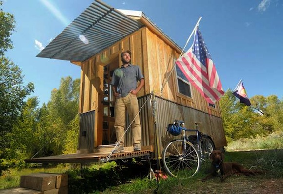 Tiny Home Designs: The Art And Science Of Fold Down Porches
