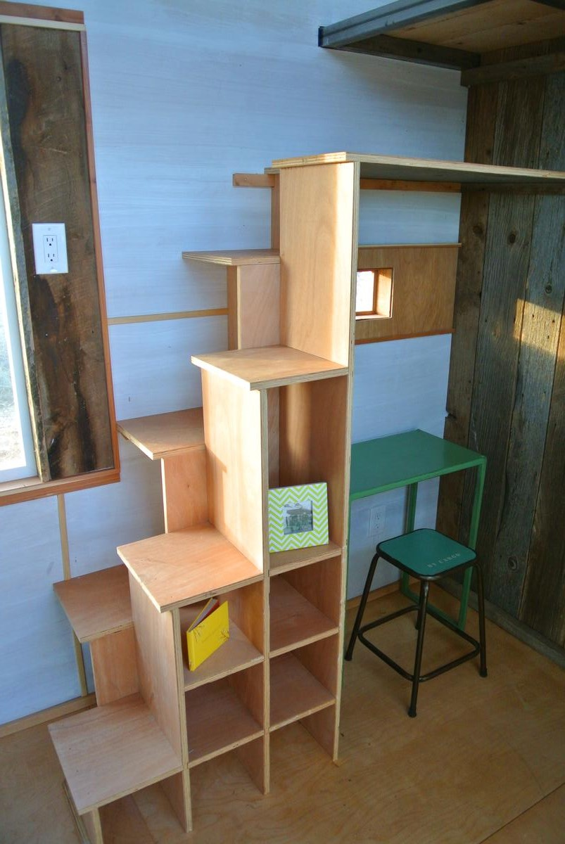 Tiny House Stairs photo credit tiny house living Boulder Tiny House Stairs