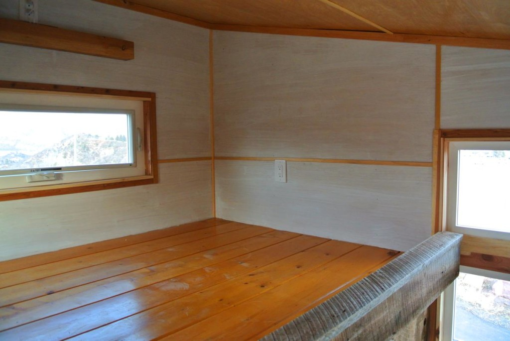 Boulder tiny house loft