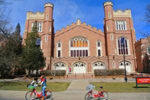 B-cycles on CU Boulder campus