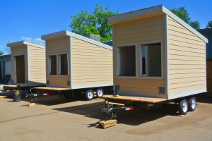 Hunter Douglas energy huts rocky mountain tiny houses