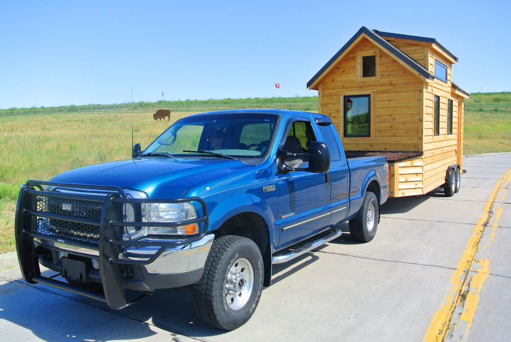 Rocky Mountain Tiny Houses work truck