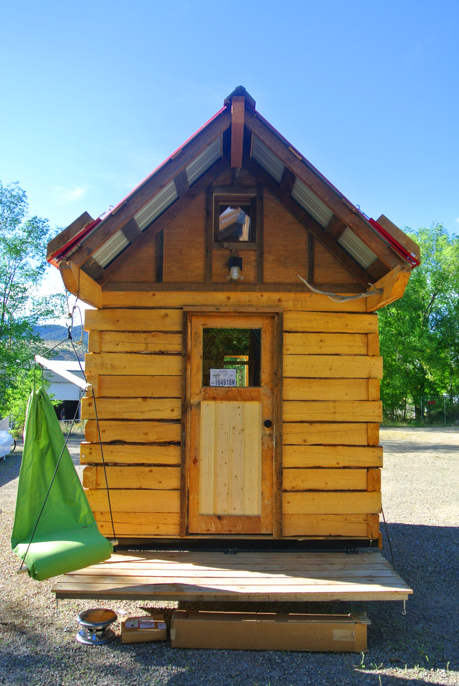 Stanley Log Cabin Tiny House