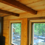 tiny house loft detail