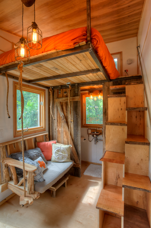 austin tiny house interior - Tiny House Trailer Interior