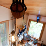 custom tiny house light fixture