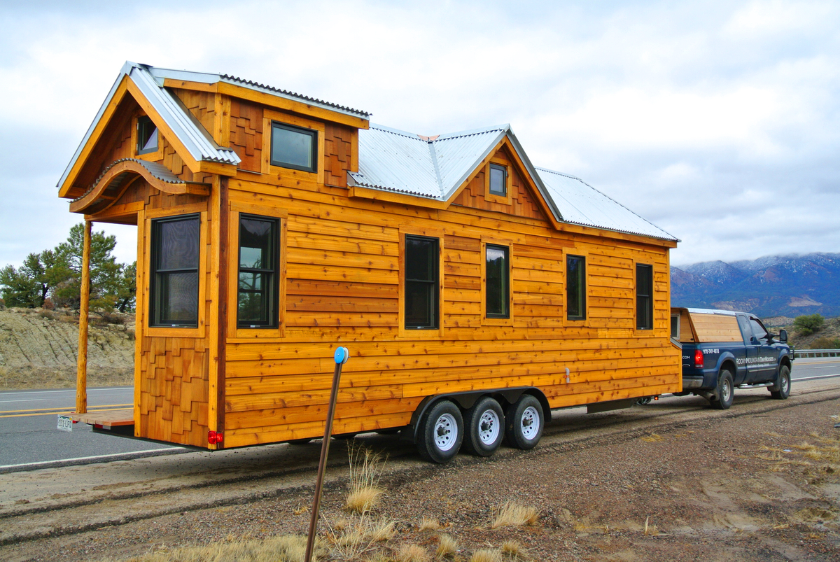 Tiny houses on trailers for sale - 30 Foot Tiny House