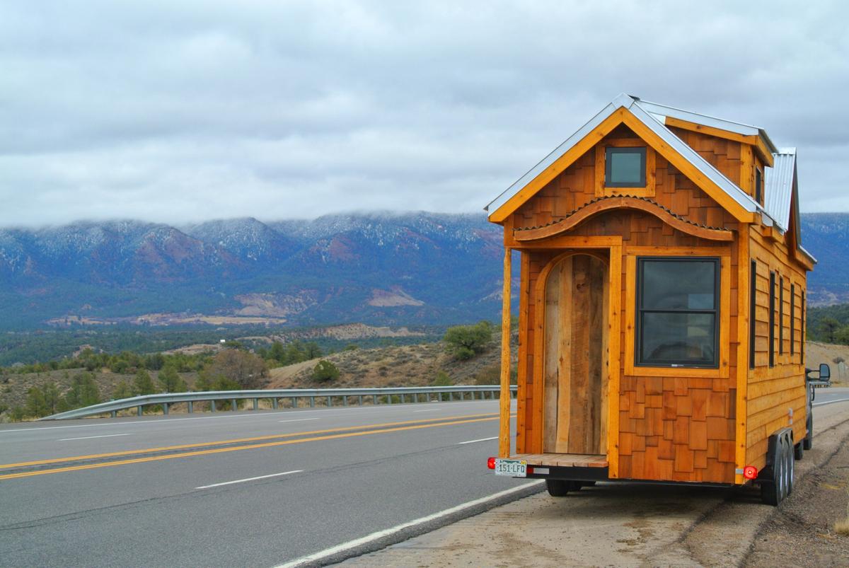tiny house in New Mexico