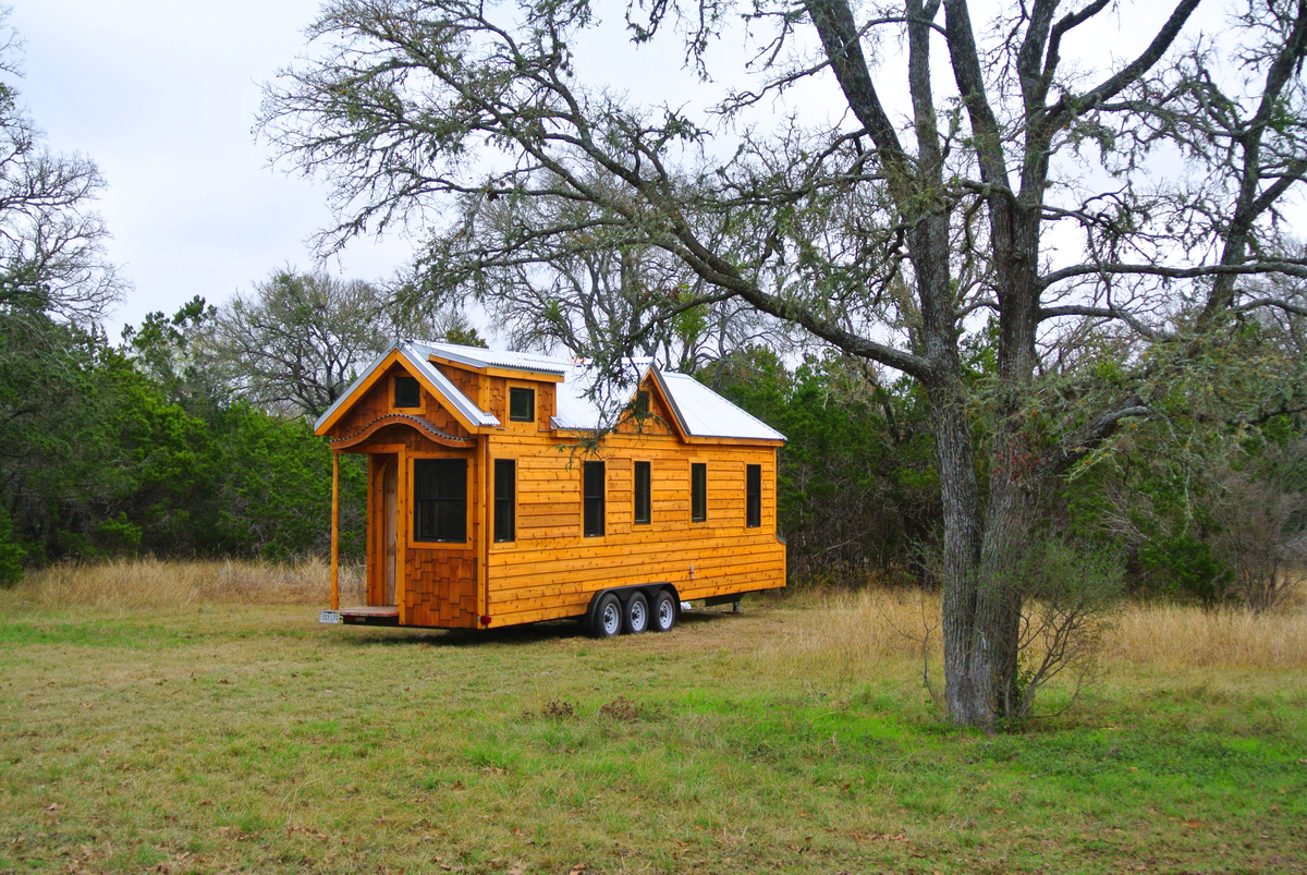 Tiny houses on trailers for sale - Tiny House Peaceful Parking