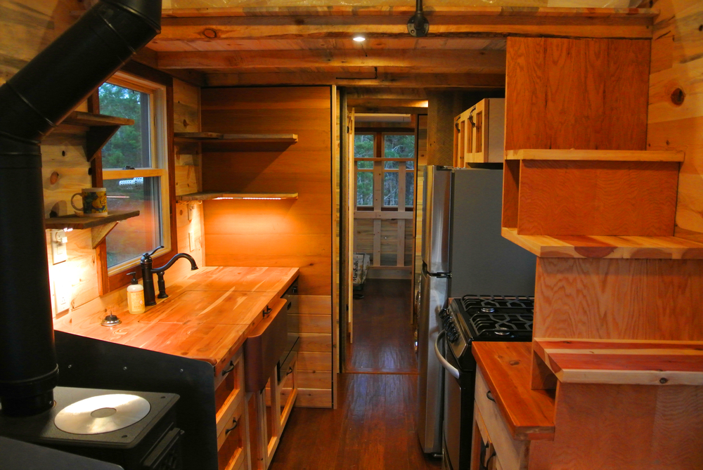 big tiny house kitchen