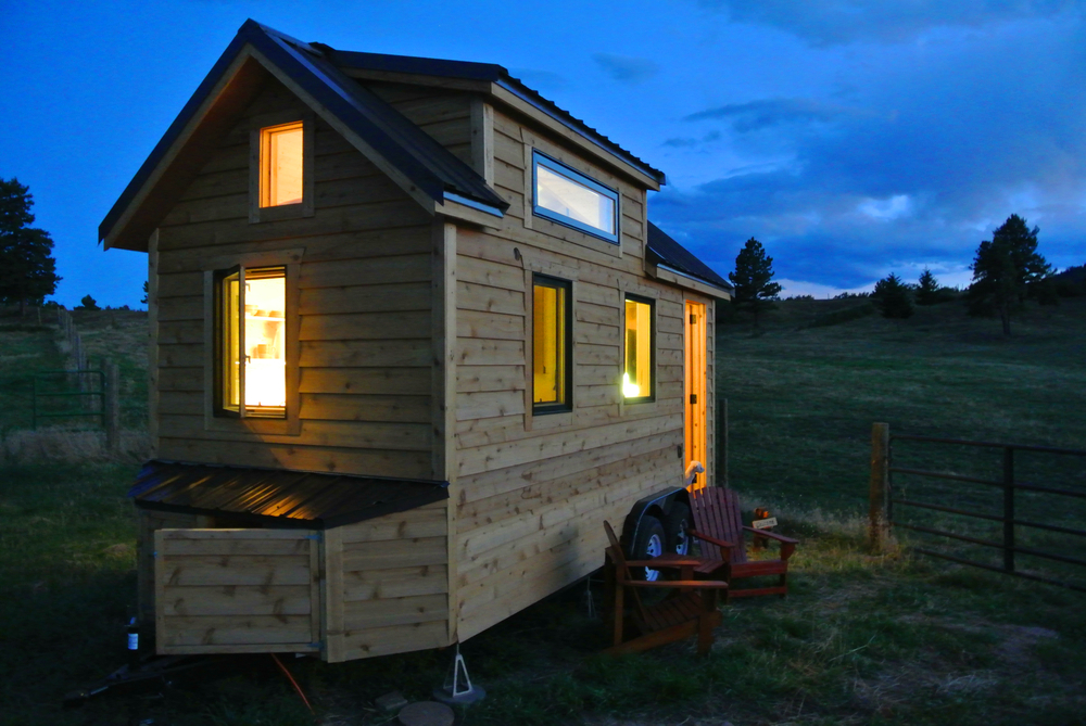 Custom Sip Tiny House As Seen On Tv Rocky Mountain