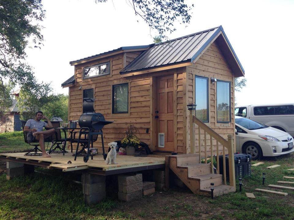 Tiny House With Big Deck