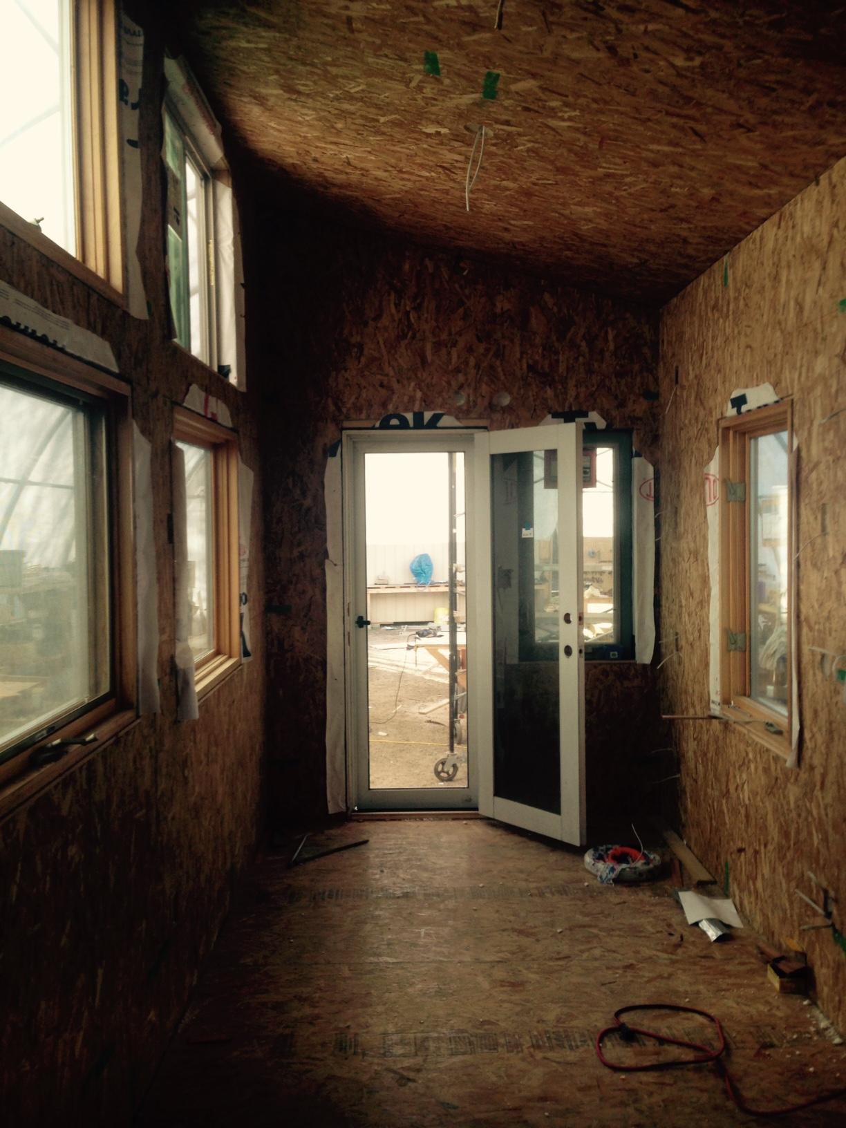 Front range tiny house interior 1