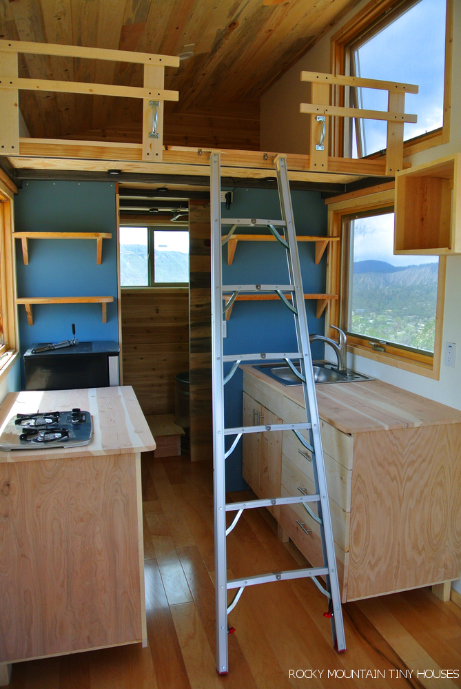 Front Range - Rocky Mountain Tiny Houses on tiny house beds, tiny house dining tables, tiny house desks,