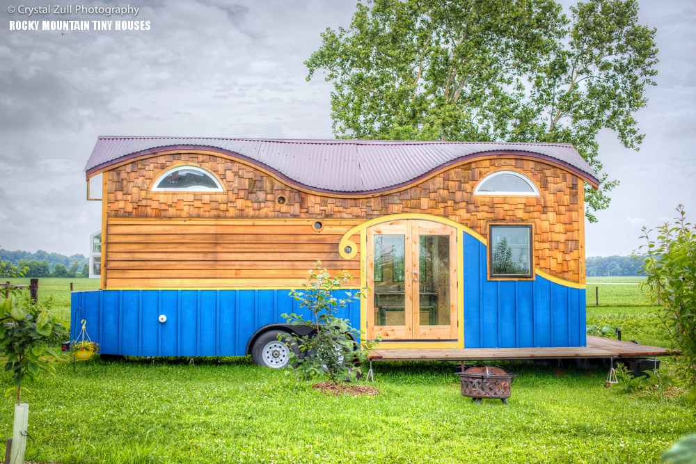 High Quality Pequod Tiny House Exterior