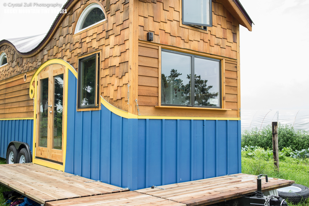 Pequod Tiny House Folding Decks