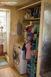 Pequod tiny house kids closet