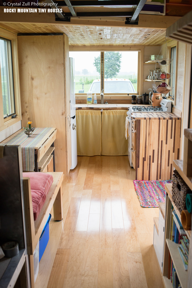 Pequod Tiny House Living Room View