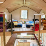Pequod tiny house catwalk
