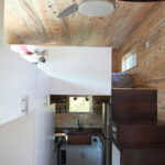 custom hOMe tiny house stairs