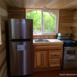 Bayfield tiny house kitchen
