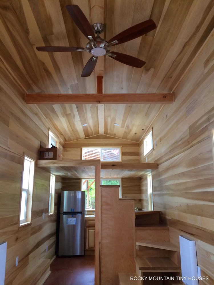 bayfield tiny house interior