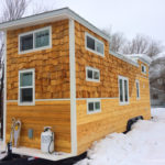 Wasatch 28' tiny house exterior