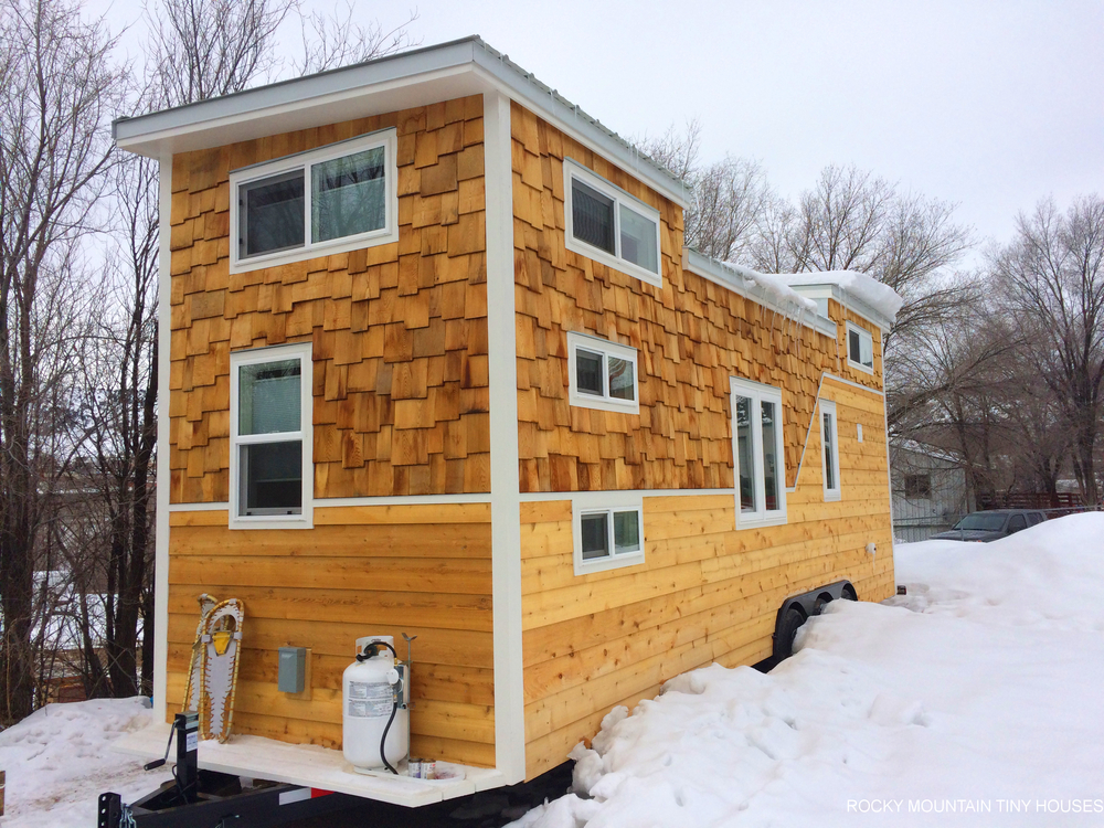 Wasatch 28 tiny house for Tiny house pictures and plans