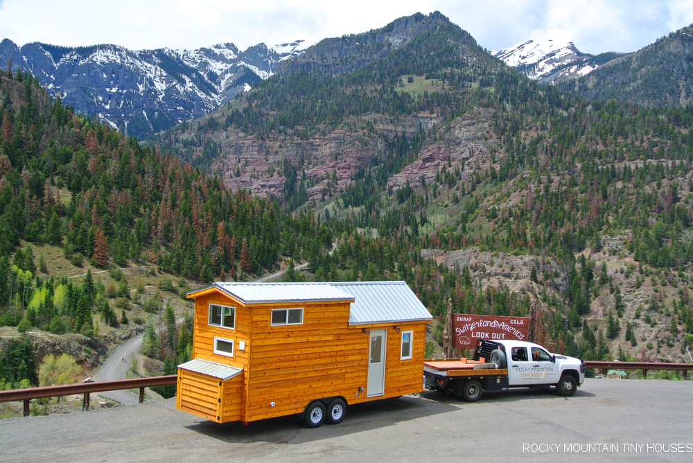 Turkey Flats tiny house mountains