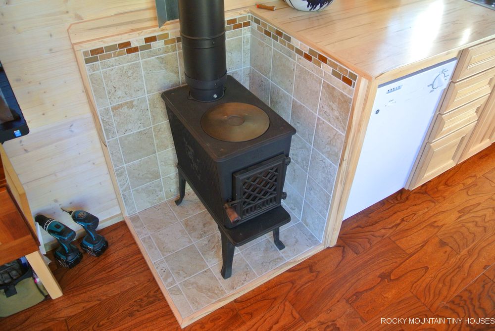 Ponderosa 24' Tiny House woodstove - Blog