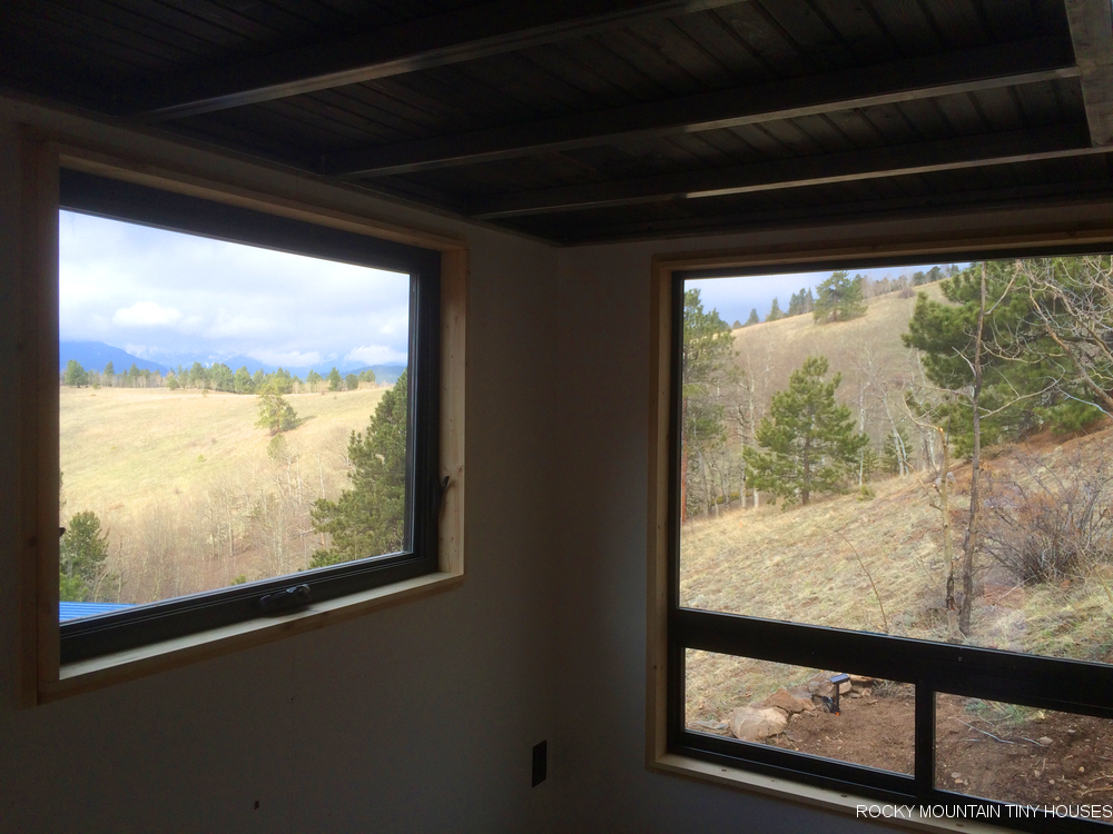 The Upslope Tiny House view