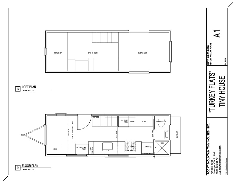 The Hoke House Floor Plan
