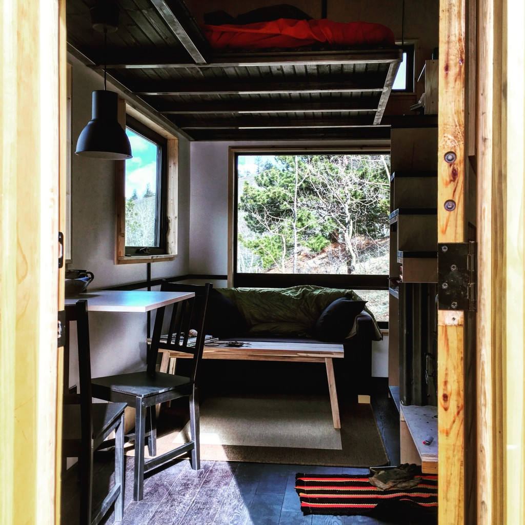 The Upslope Tiny House interior
