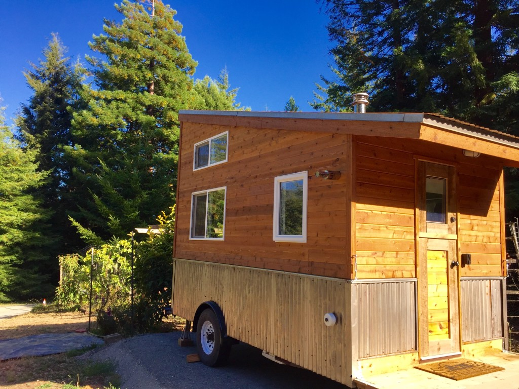 The Mac Shack Tiny House exterior