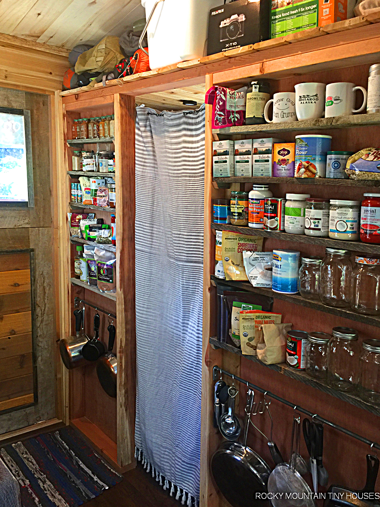 The Mac Shack tiny house spice rack