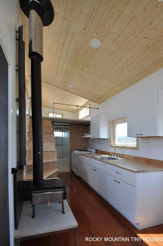 Otsego Gooseneck Tiny House kitchen