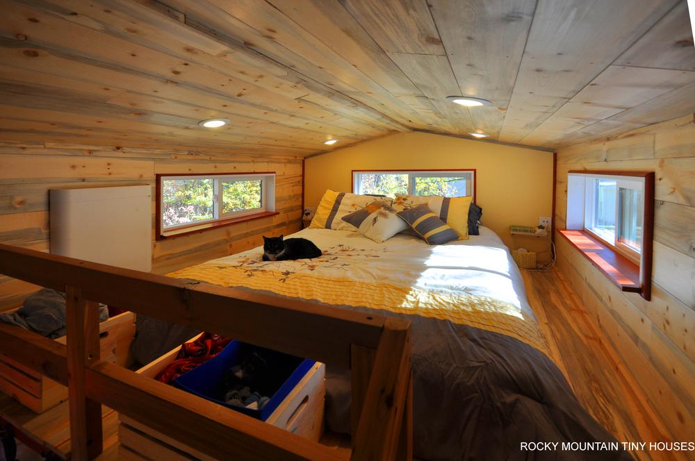 Harmony Haven Tiny House sleeping loft