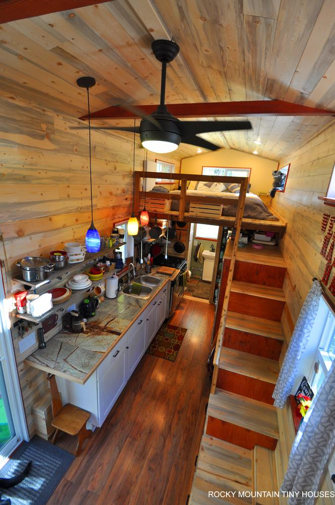 Harmony Haven Tiny House kitchen 1
