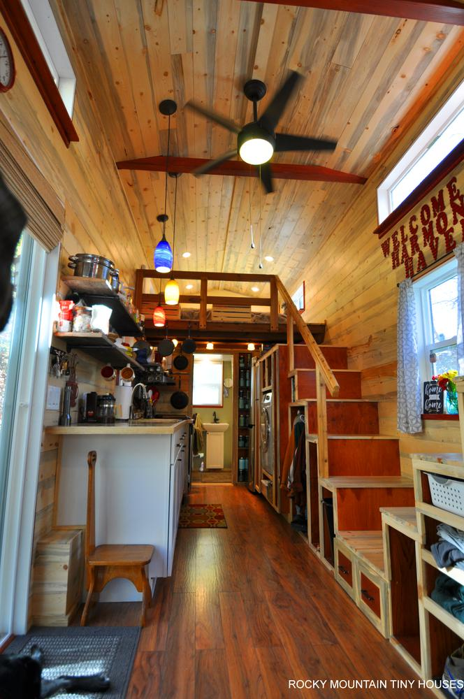 Harmony Haven Tiny House kitchen 2