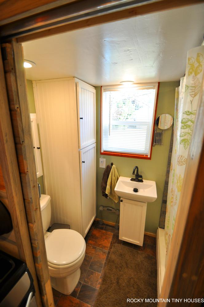 Harmony Haven Tiny House bathroom 1