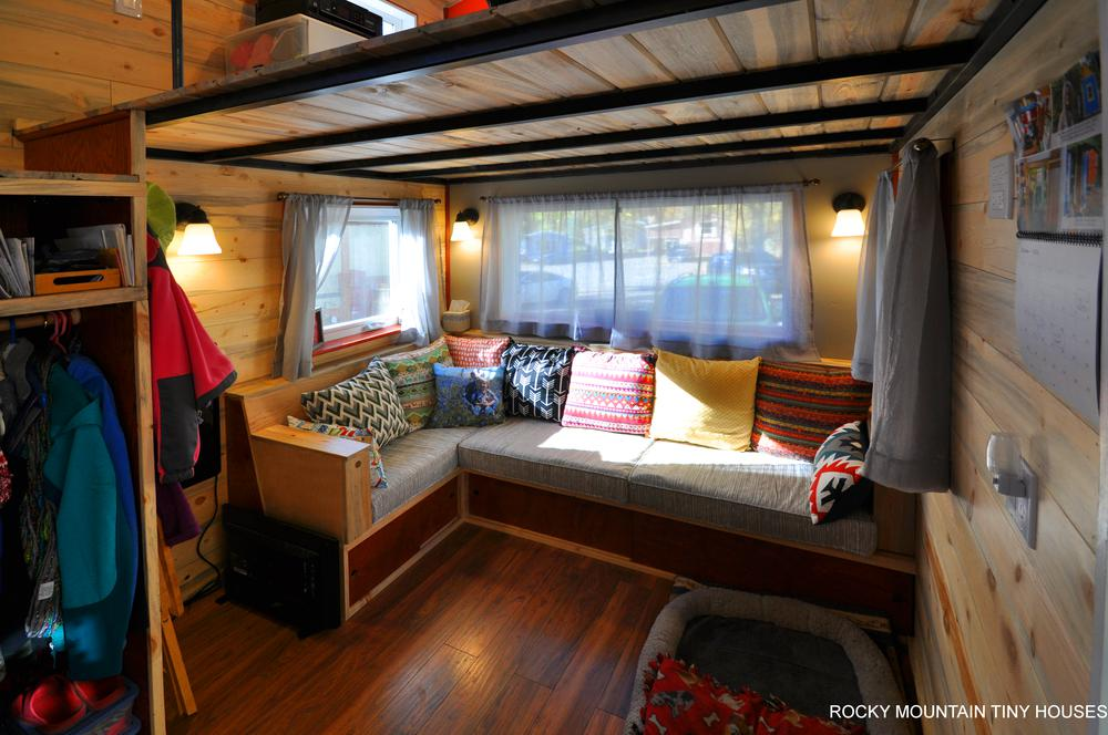 Harmony Haven Tiny House living room1