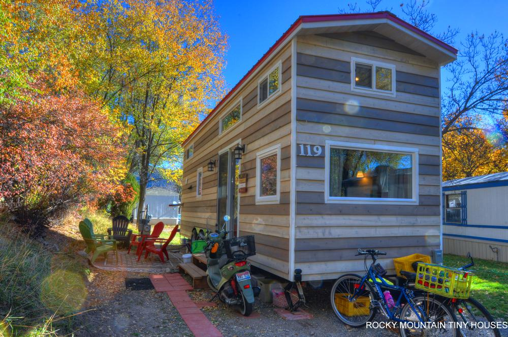 Harmony Haven Tiny House exterior siding