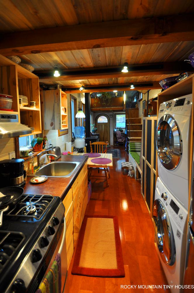 Red Mountain 34' Tiny House kitchen 3