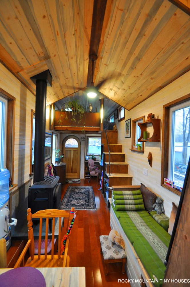 Red Mountain 34' Tiny House living 2