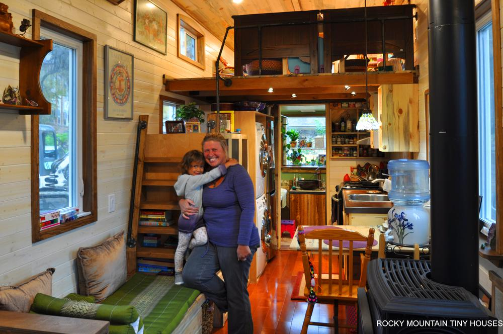 Red Mountain 34' Tiny House happy customers