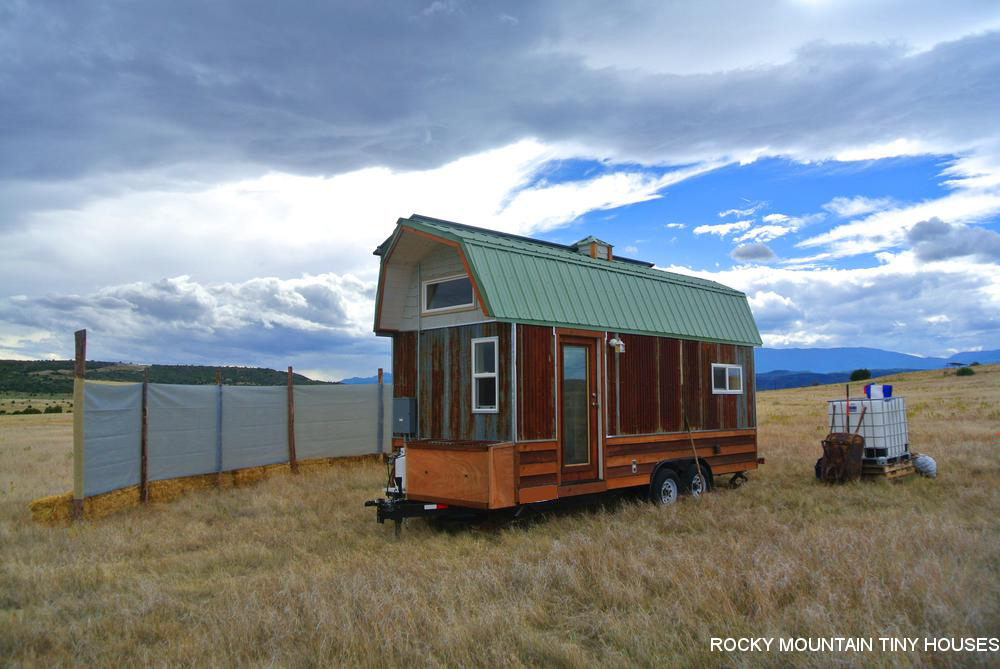 Bitterroot Valley Tiny House Exterior