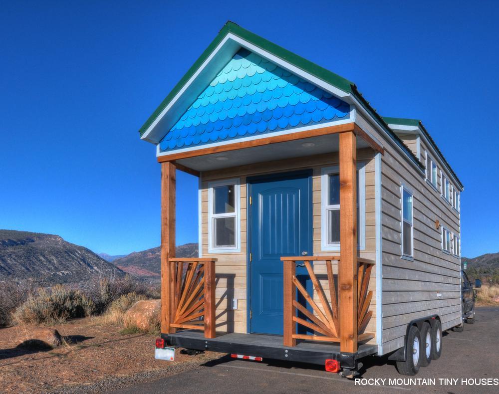 Ol\' Berthoud Blue - Rocky Mountain Tiny Houses