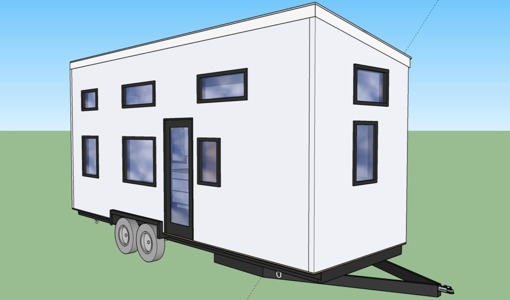 Whitefish 8x24 sip tiny house rocky mountain tiny houses for Sip tiny house kit